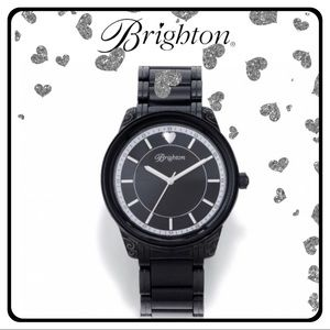 "Brighton ""Carpinteria"" Watch. W40903. -Like New"